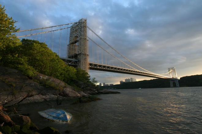 Cầu George Washington bắc qua sông Hudson