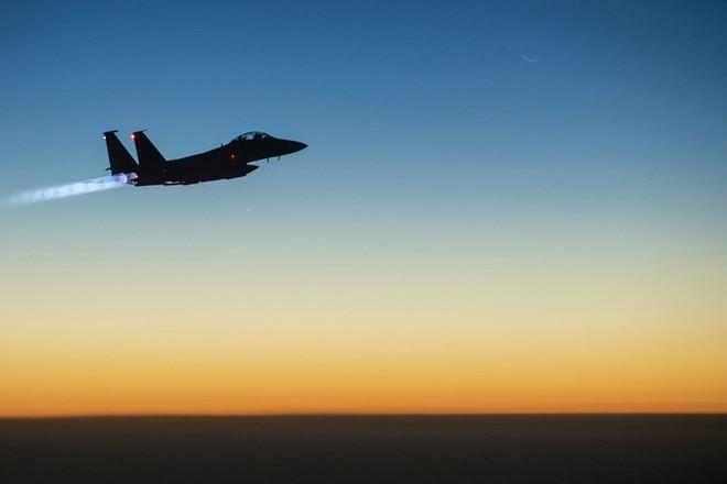 Máy bay F-15E của Không quân Mỹ