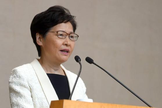 Trưởng đặc khu hành chính Hồng Kông (Trung Quốc), bà Carrie Lam