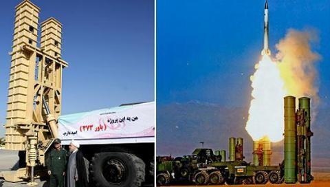 Hệ thống phòng không Bavar-373 của Iran và S-300 Nga
