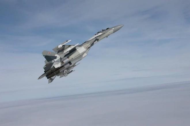 Máy bay tiêm kích Su-35 của Nga từng chặn chiến đấu cơ Israel tấn công Syria