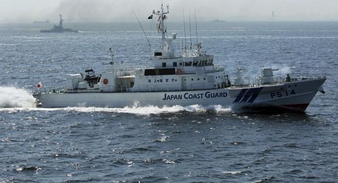 Tàu tuần tra của Nhật Bản. Ảnh minh họa