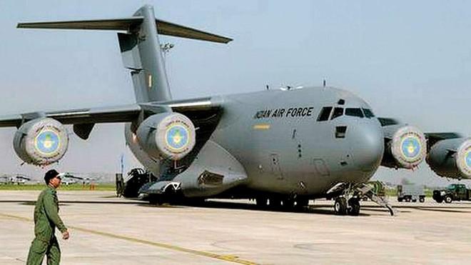 Máy bay vận tải cỡ lớn C-130J của Không quân Ấn Độ