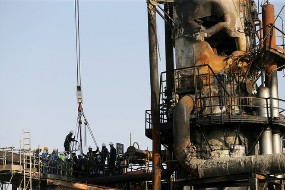 Cơ sở lọc dầu bị tấn công của Aramco