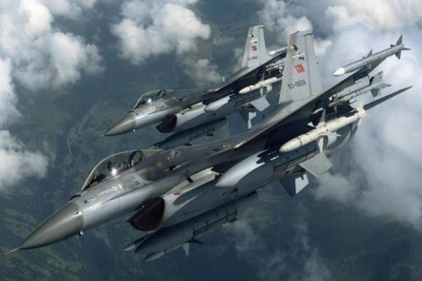 Các máy bay chiến đấu của Không quân Thổ Nhĩ Kỳ