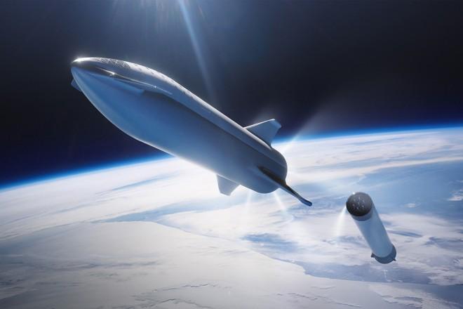 SpaceX tiết lộ mẫu thử nghiệm tàu vũ trụ Starship