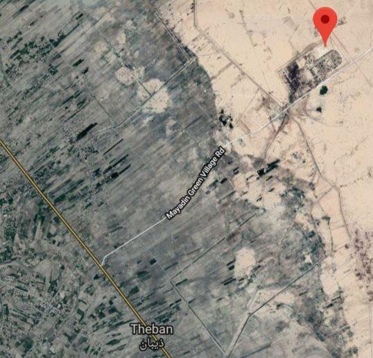 Hình ảnh vệ tinh cho thấy căn cứ Mỹ ở miền Đông Syria
