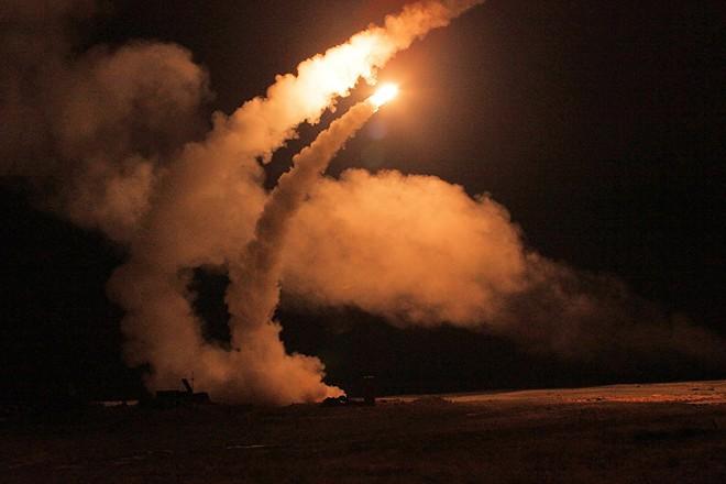 Lực lượng phòng thủ không gian Nga trong một cuộc diễn tập chiến đấu