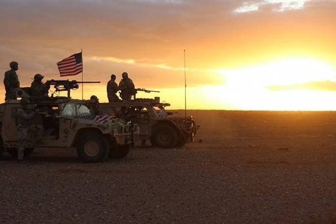 Binh sĩ Mỹ tại Al-Tanf, miền Nam Syria