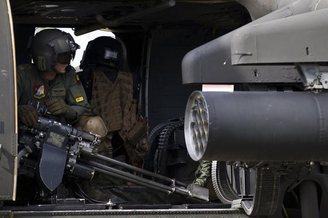 Một chiếc trực thăng của Không quân Colombia
