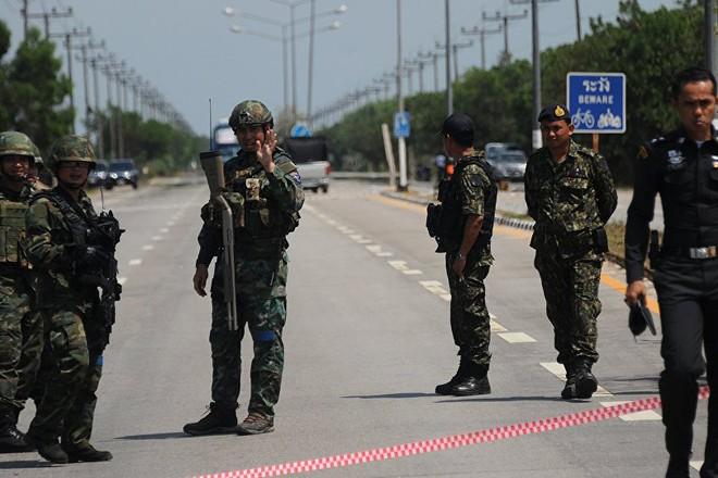 Lực lượng an ninh Thái Lan
