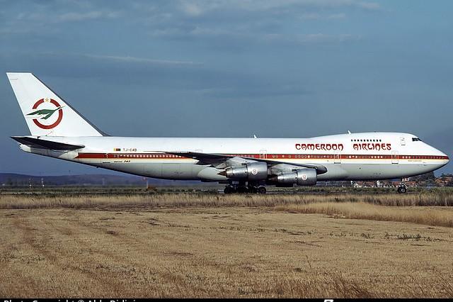 Một chiếc máy bay của Hãng hàng không Cameroon Airlines. Ảnh minh họa