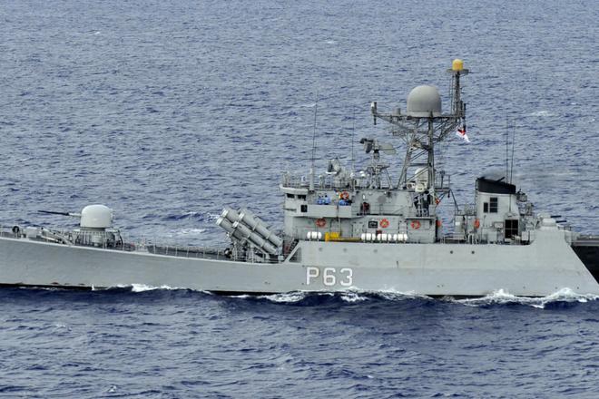 Tàu hộ tống INS Kulish (P63) của Hải quân Ấn Độ