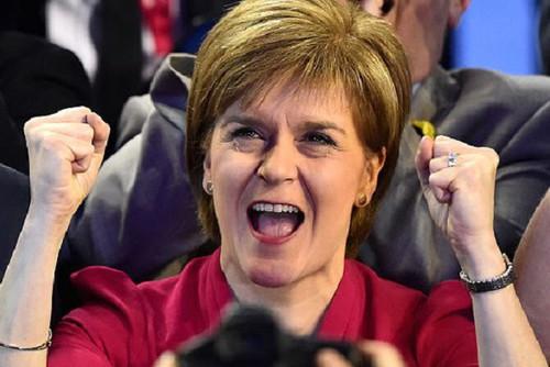 Thủ hiến Scotland, bà Nicola Sturgeon