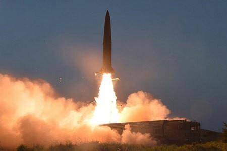 Một vụ phóng thử tên lửa của Triều Tiên
