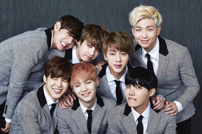 Nhóm nhạc BTS của Hàn Quốc