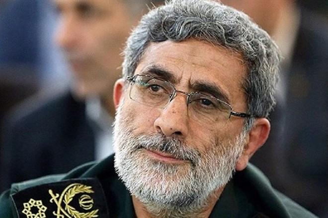 Chuẩn tướng Esmail Ghaani, tân Tư lệnh Lực lượng đặc nhiệm Quds Iran
