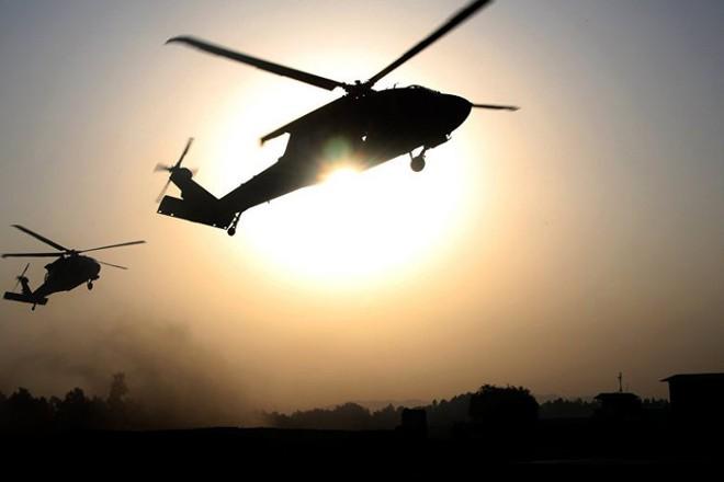 Máy bay của Liên quân chống khủng bố do Mỹ dẫn đầu