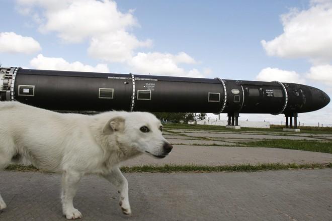 Tên lửa đạn đạo liên lục địa R-36M2 của Nga
