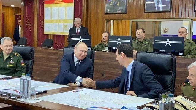Tổng thống Nga Vladimir Putin gặp người đồng cấp Syria Bashar al-Assad
