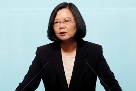 Lãnh đạo đương nhiệm của Đài Loan, bà Thái Anh Văn