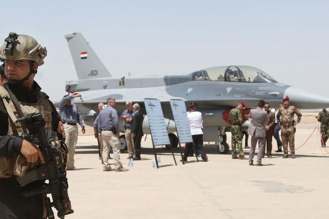 Mỹ dừng chuyển giao phi đội tiêm kích F-16 mới cho Iraq