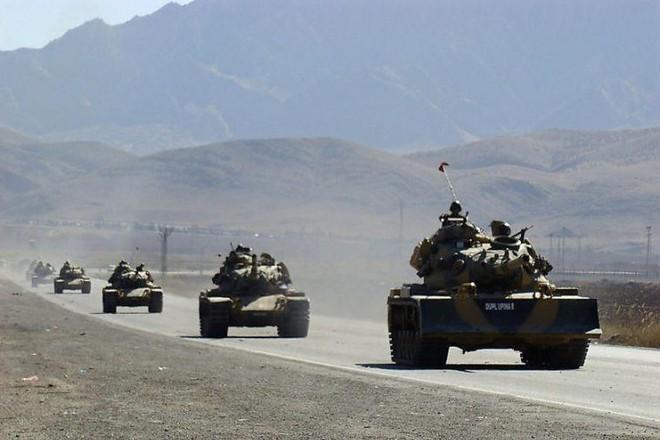 Đoàn xe quân sự Thổ Nhĩ Kỳ