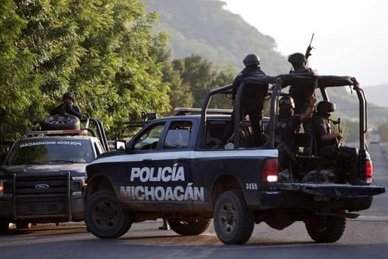 Lực lượng an ninh ở bang Michoacan, Mexico
