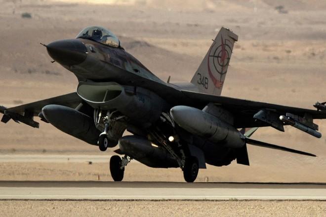 Máy bay tiêm kích F-16 của Israel