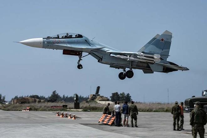 Căn cứ không quân Hmeimim của Nga tại Syria