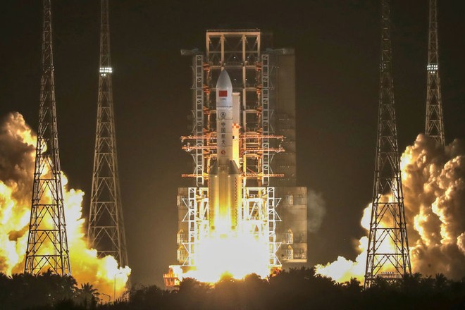 Trung tâm phóng vệ tinh Văn Xương của Trung Quốc