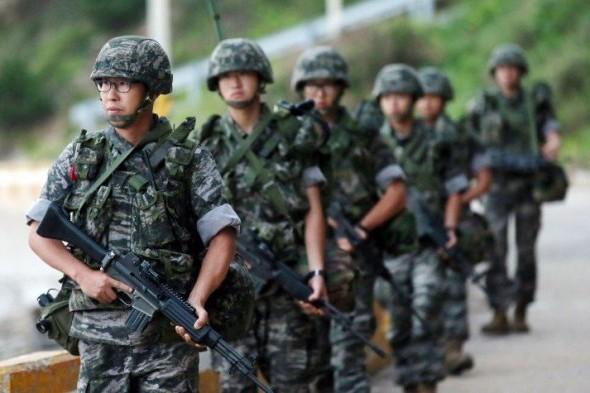 Binh sĩ quân đội Hàn Quốc