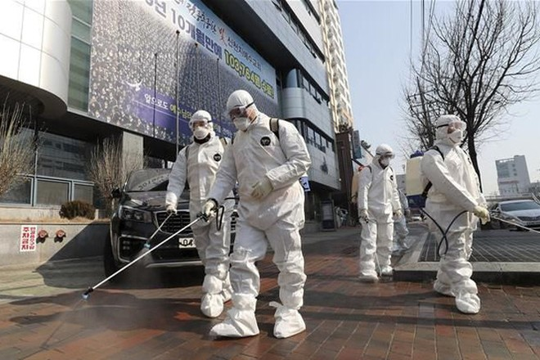 Số ca nhiễm virus corona mới tăng mạnh tại Hàn Quốc
