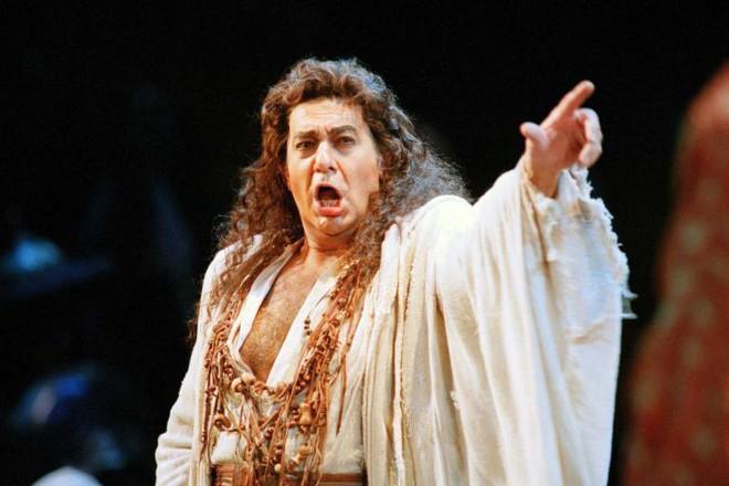Ca sỹ opera nổi tiếng người Tây Ban Nha Placido Domingo