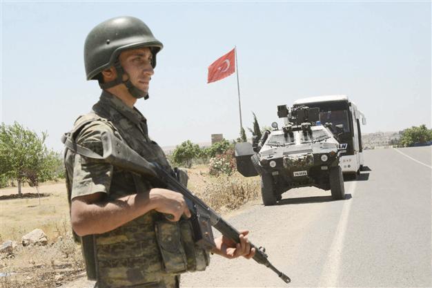 Binh sĩ Thổ Nhĩ Kỳ tại Syria