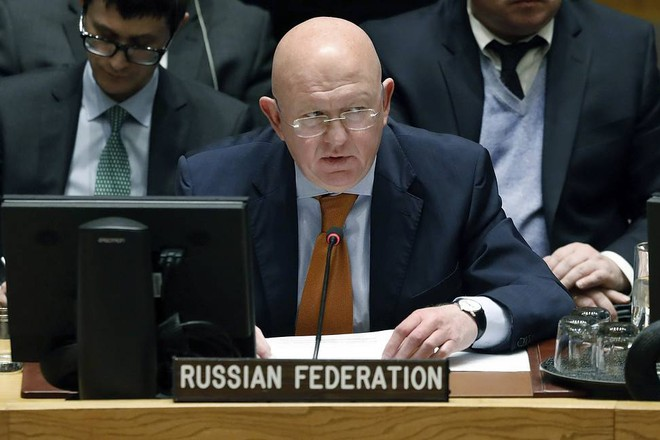 Đại sứ Nga tại Liên hợp quốc, ông Vasily Nebenzya