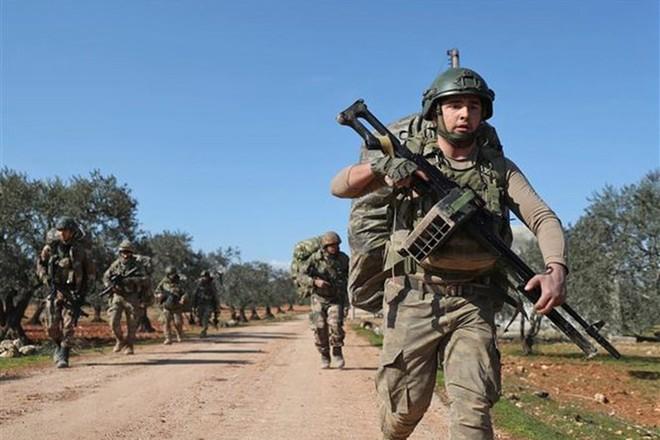 Binh sĩ Thổ Nhĩ Kỳ được triển khai tại tỉnh Idlib, Tây Bắc Syria