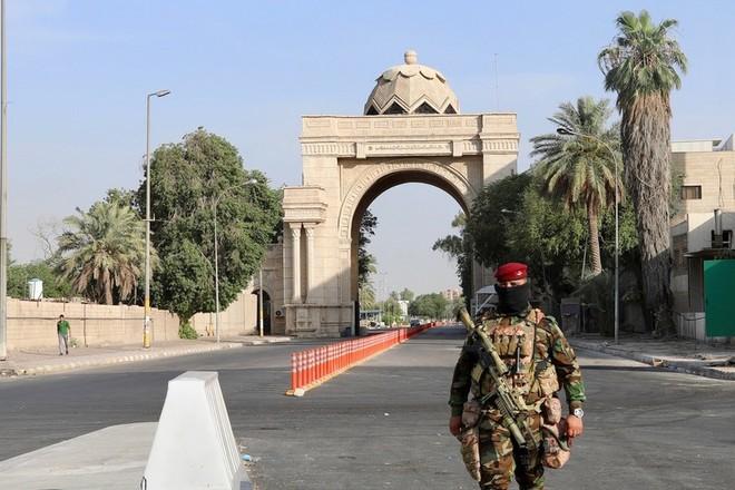 Khu vực Vùng Xanh được bảo vệ nghiêm ngặt ở Thủ đô Baghdad của Iraq