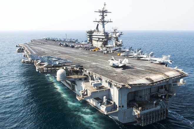 Tàu sân bay USS Theodore Roosevelt của Hải quân Hoa Kỳ