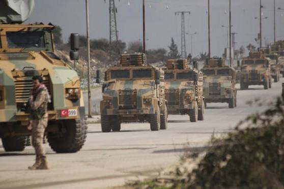 Đoàn xe quân sự Thổ Nhĩ kỳ tại Syria