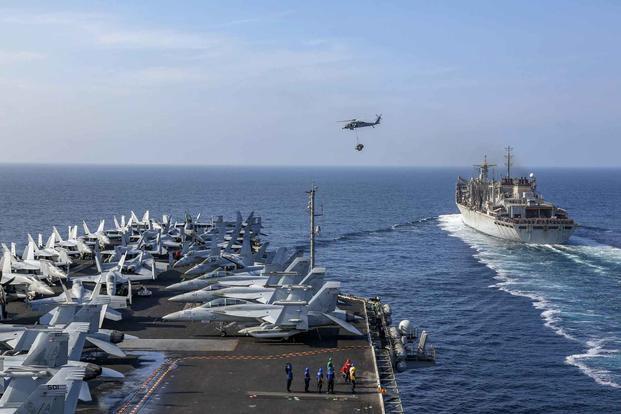 Căng thẳng gia tăng với Iran, Mỹ duy trì cùng lúc 2 tàu sân bay ở Trung Đông