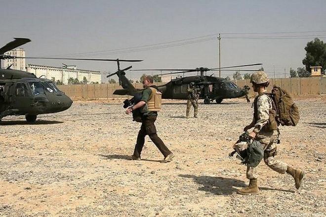 Binh sĩ Mỹ đồn trú tại Iraq