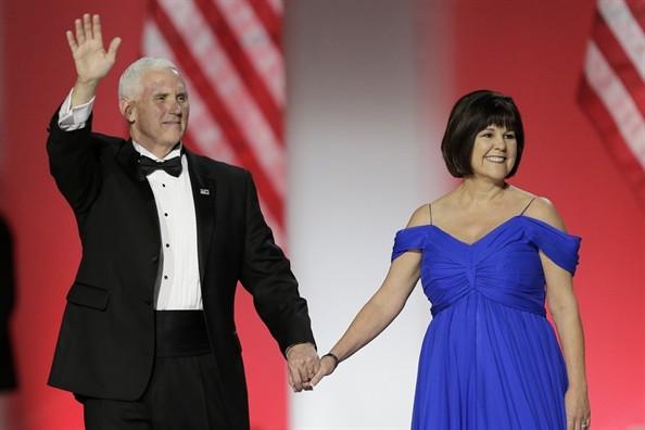 Vợ chồng Phó Tổng thống Mỹ Mike Pence
