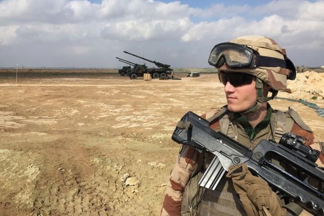 Binh sĩ Pháp tham gia hoạt động chống khủng bố IS ở Iraq