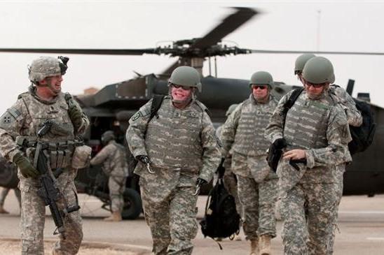 Liên quân Mỹ bất ngờ rời khỏi căn cứ quân sự K1 ở Iraq