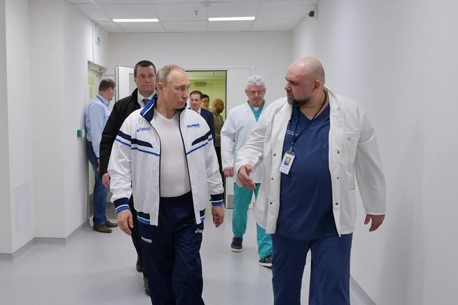 Tổng thống Putin và bác sĩ Protsenko