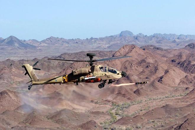 Trực thăng Apache của quân đội Israel