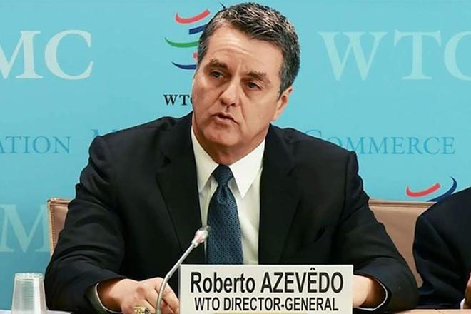Tổng giám đốc WTO Roberto Azevedo