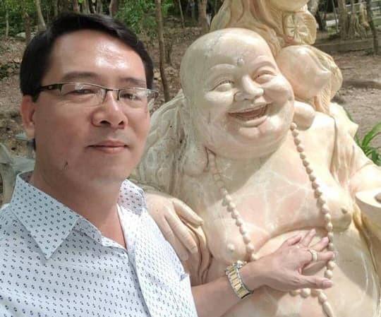Ông Trương Hải Ân bị bắt khi đang lẩn trốn tại TP.HCM. Ảnh: TPO