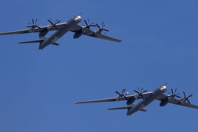 Máy bay ném bom chiến lược Tu-95MS của Nga